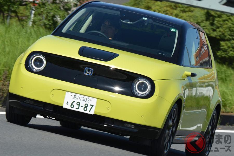 ホンダ初の量産EV「ホンダe」