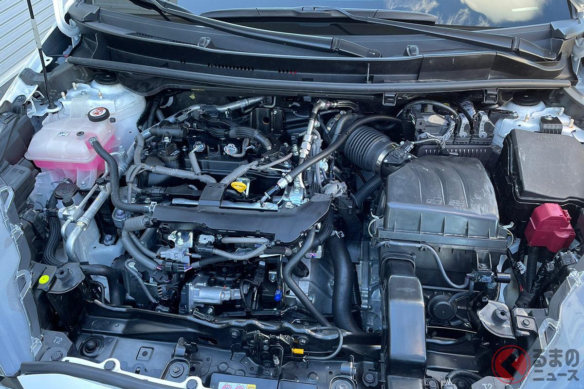 見た目はガソリンエンジンに見えるが、実はこれが水素エンジン