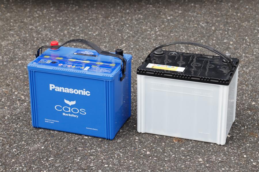 パナソニック「caos」バッテリーと一般的なバッテリー