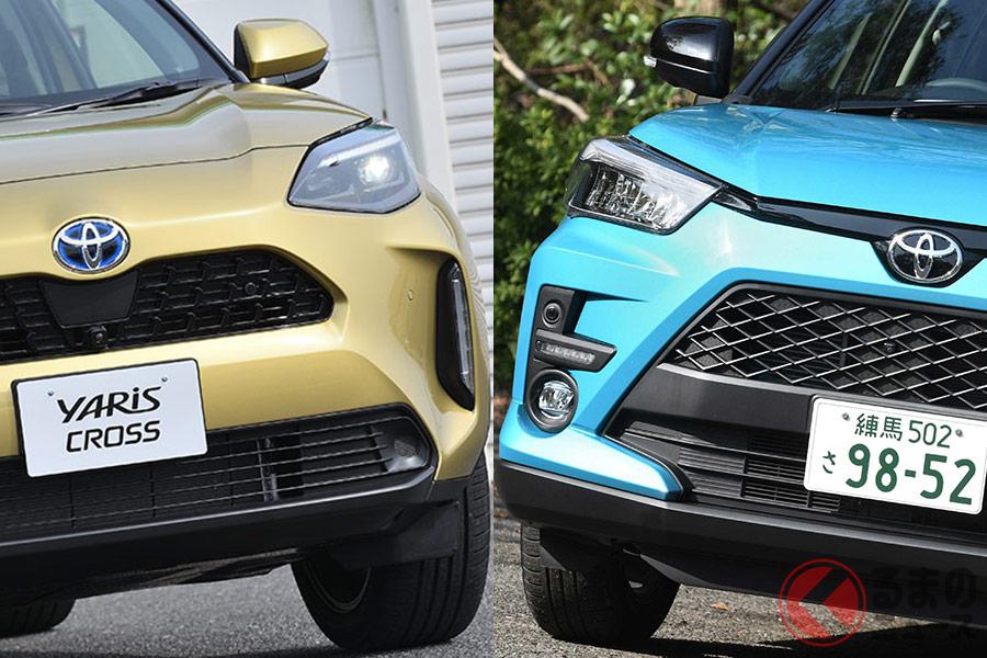 コンパクトSUV市場は激化! トヨタでは「ライズ」「ヤリスクロス」「C-HR」をラインナップ。人気のライズは販売面で変化はあったのか。