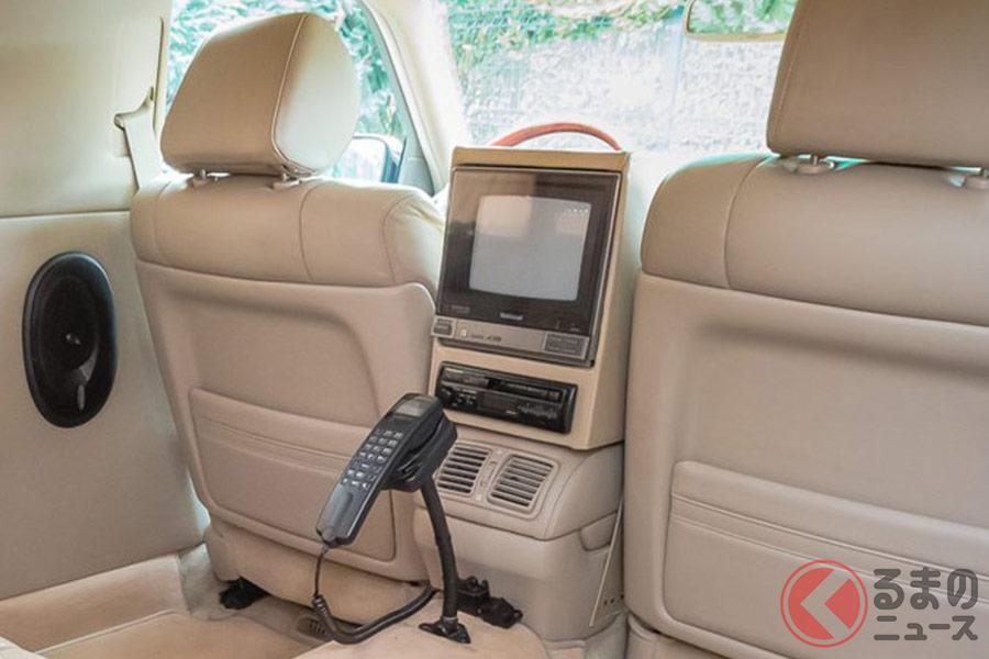 「LSリムジン」には、懐かしきブラウン管テレビが搭載されている(画像:Copyright c JamesEdition.com)