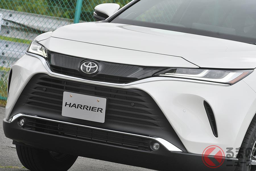 2020年6月にフルモデルチェンジしたトヨタ「ハリアー」(4代目)