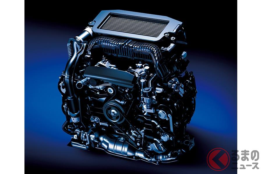 新開発の1.8リッター直噴ターボエンジン(CB18型)
