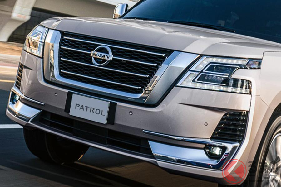 アラブ首長国連邦で発表された日産「パトロール 2021年モデル」