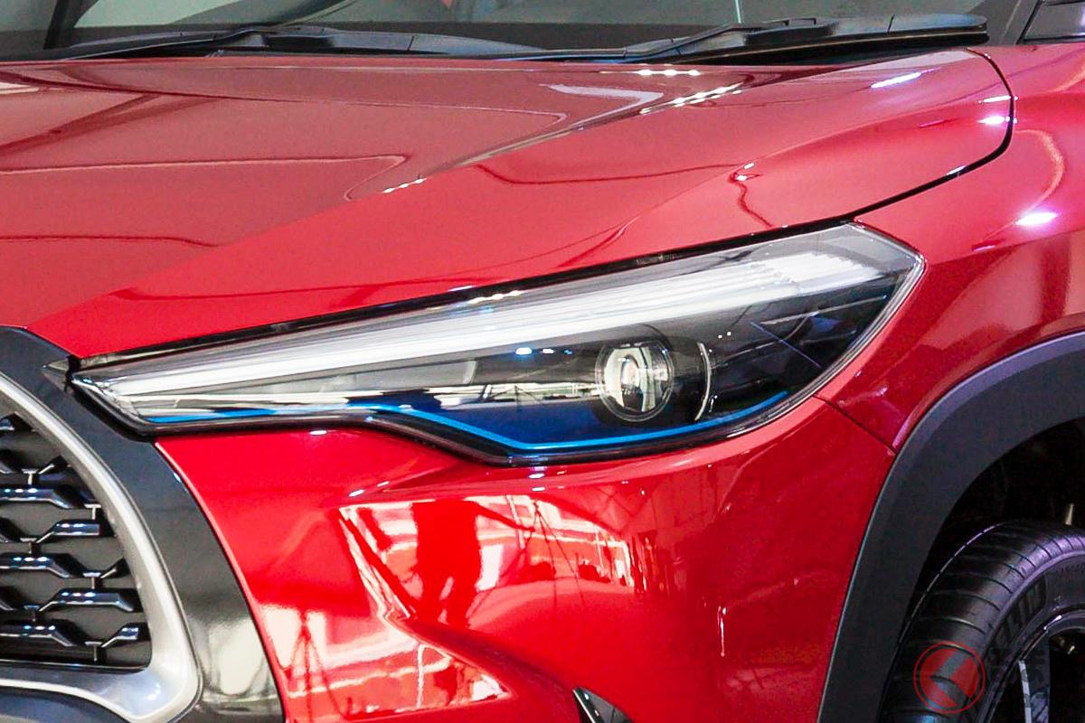 マレーシアに投入されるトヨタの新型ハイブリッド車は「カローラクロス」になる?(画像はタイ仕様のカローラクロス)