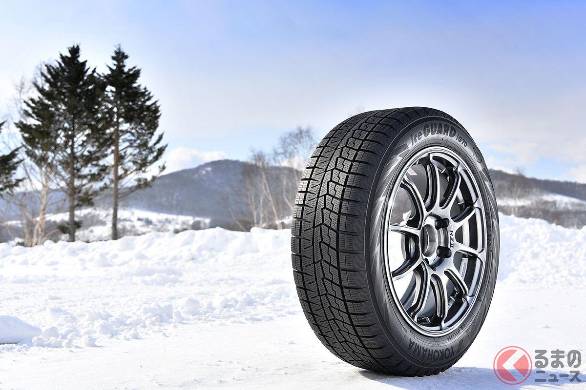 ヨコハマの乗用車用新スタッドレスタイヤ「iceGUARD 7(アイスガード セブン)」