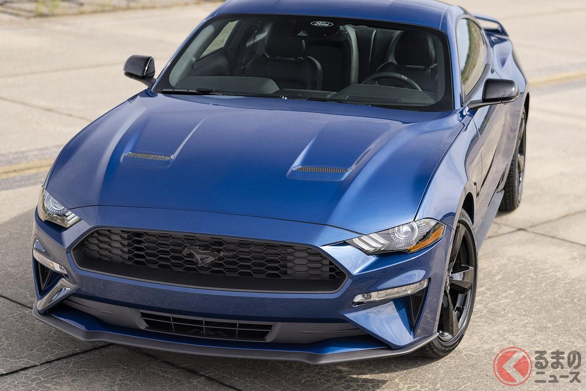 フォード「マスタング」2022年モデルに用意されたステルスエディション・アピアランスパッケージ