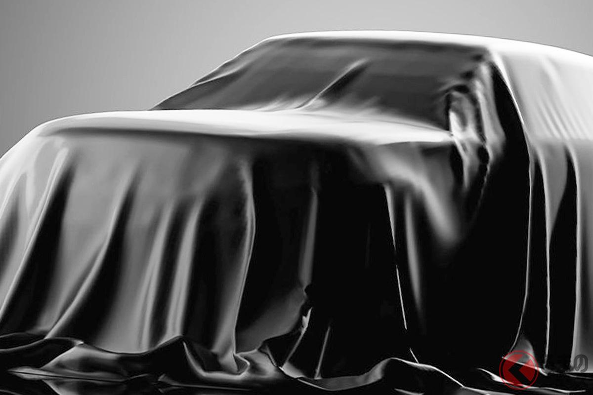 マツダの欧州法人がSNSで公開したアンベール前の新型「CX-60」(画像:マツダの欧州公式ツイッターより)