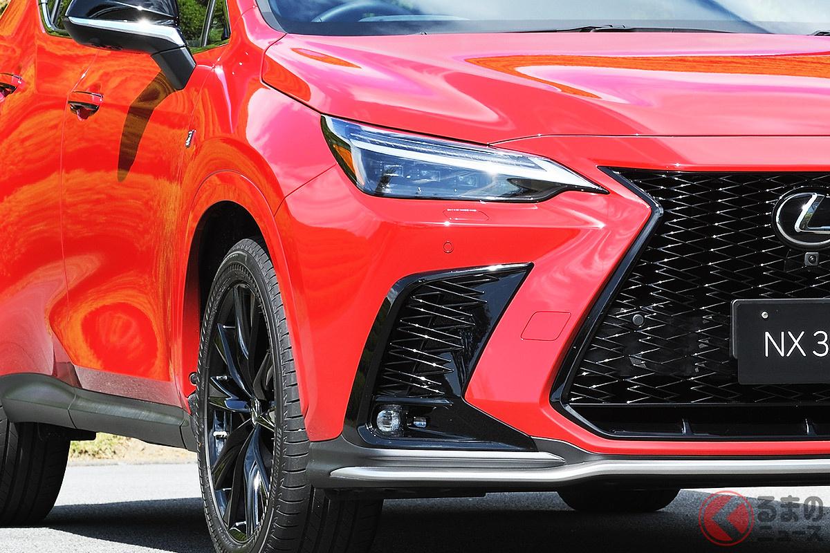 2021年10月7日に発表されたレクサス新型「NX」(写真はガソリン仕様)