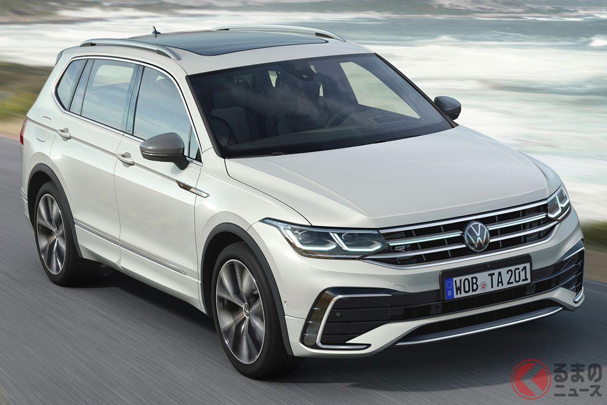 VW改良新型「ティグアン・オールスペース」