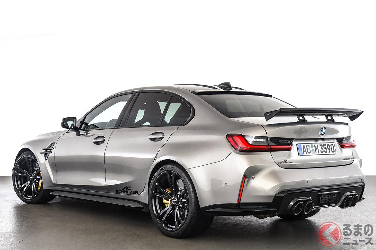 ACシュニッツァーは、最新「M3」を快適な乗り心地を持つ日常的なクルマであると同時に、コーナリングやレースに適したスポーツカーに仕立てた