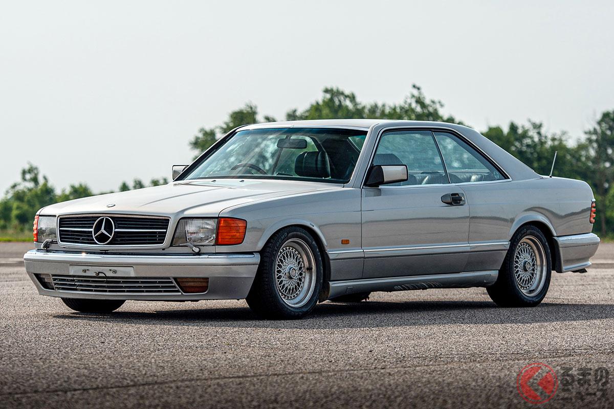 新車当時の価格は1000万円以上していたメルセデス・ベンツ「500SEC」(C)2021 Courtesy of RM Sotheby's
