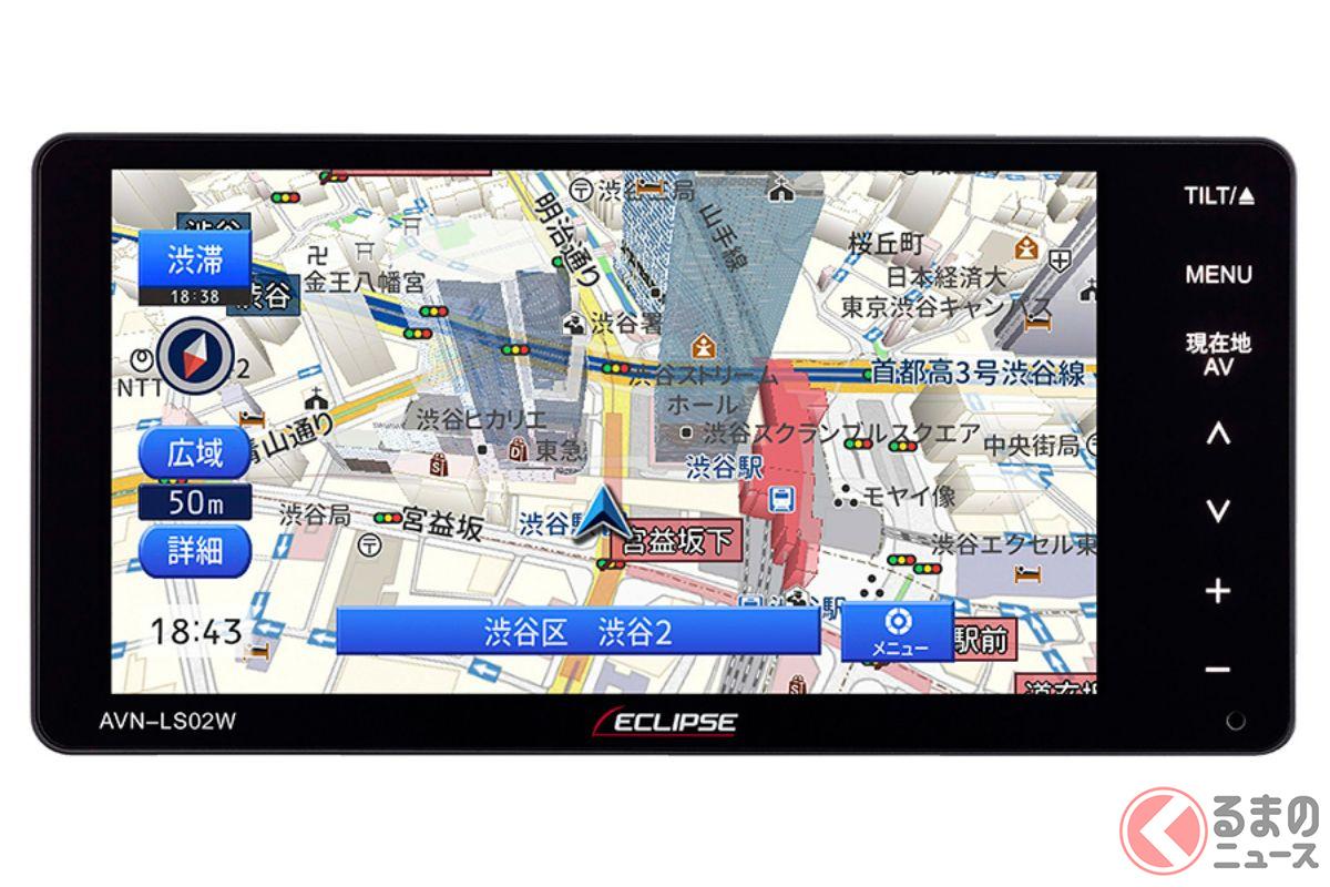 Bluetoothやフルセグに加え、クアッドコアのCPUも! ECLIPSE新型「LSシリーズ」