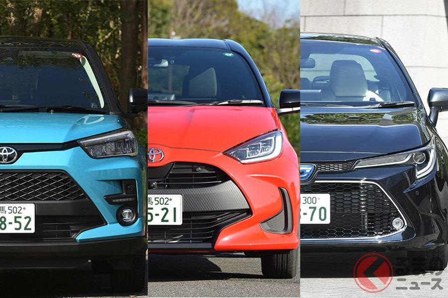 今年は、トヨタの3車種が年間王者を争うのか?