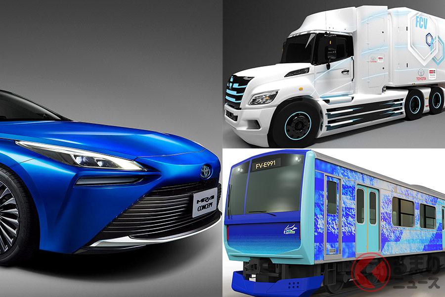 トヨタが燃料電池車「ミライ」の技術を活かして新たな分野に参画する背景とは