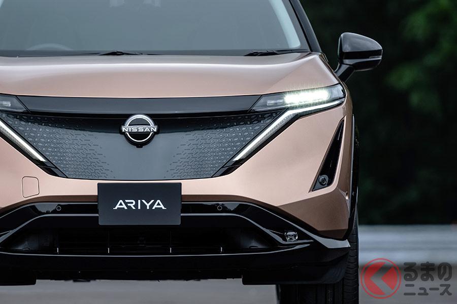 2021年中頃に日本市場で発売予定の日産「アリア」。リーフと一緒にEV市場をけん引する存在となるか。