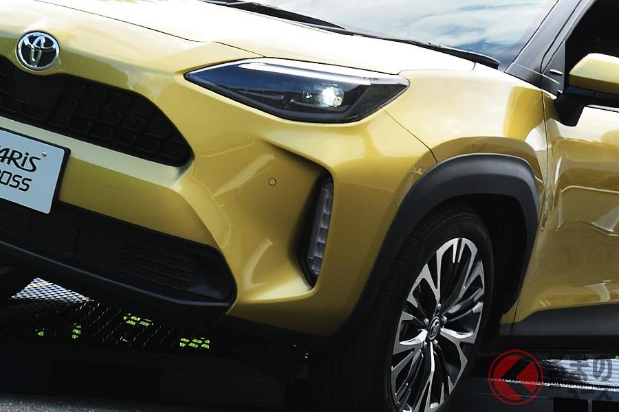 2020年8月31日に発売されたトヨタ新型「ヤリスクロス」