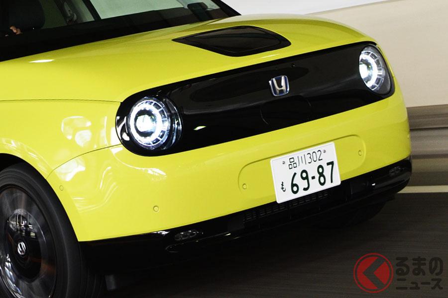 2020年11月5日に第二期の受注が開始した新型「ホンダe」