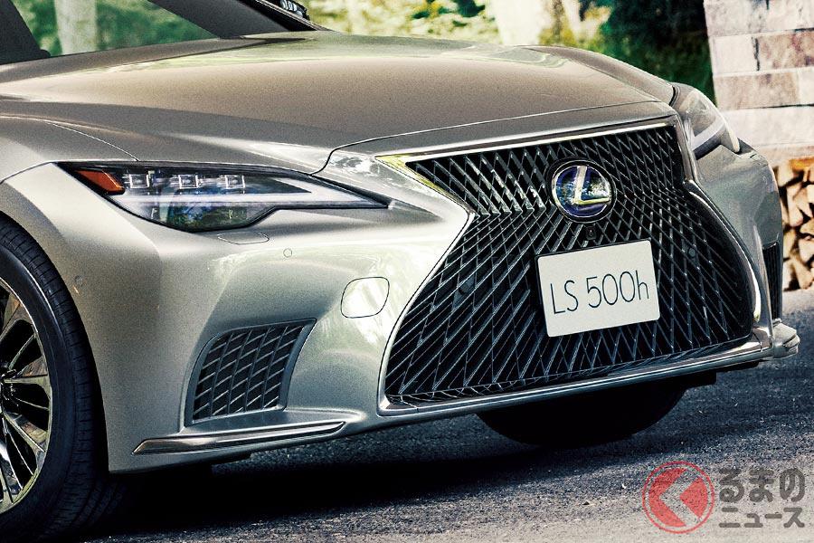 豪華な内外装のレクサス新型「LS」