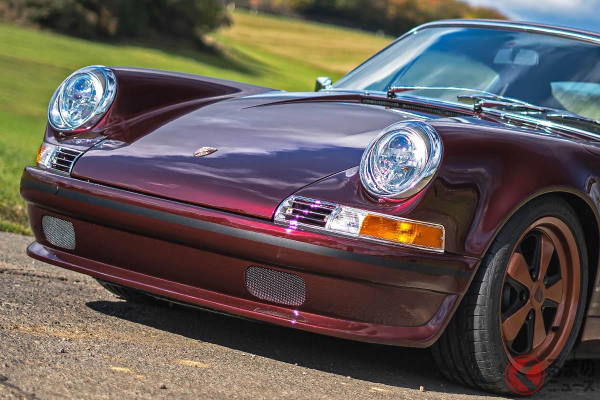 「dpモータースポーツ」が「901型」風にレストモッドしたポルシェ「911(964型)」