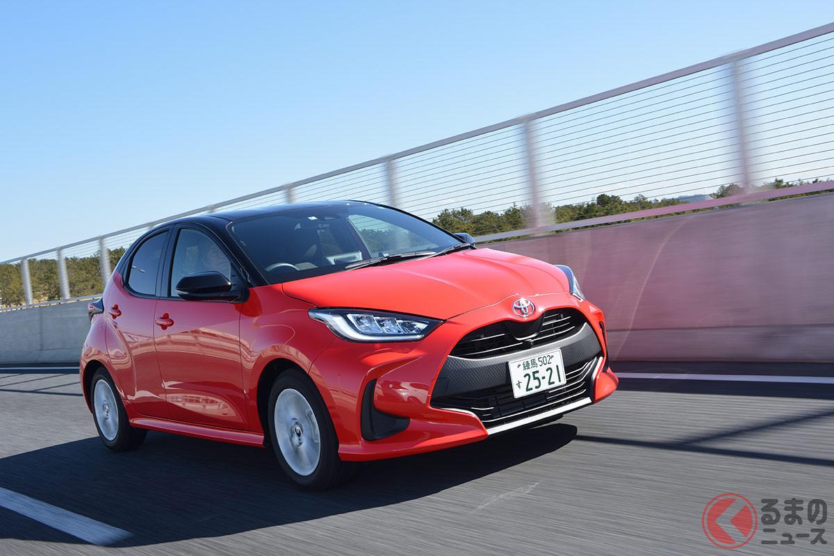 2020年2月に登場した「ヤリス(旧ヴィッツ)」。ハイブリッド車の燃費は世界トップクラスを実現!