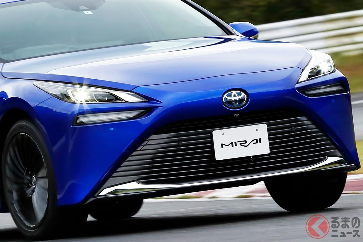 2020年12月9日に発売された2代目モデルの新型「ミライ」