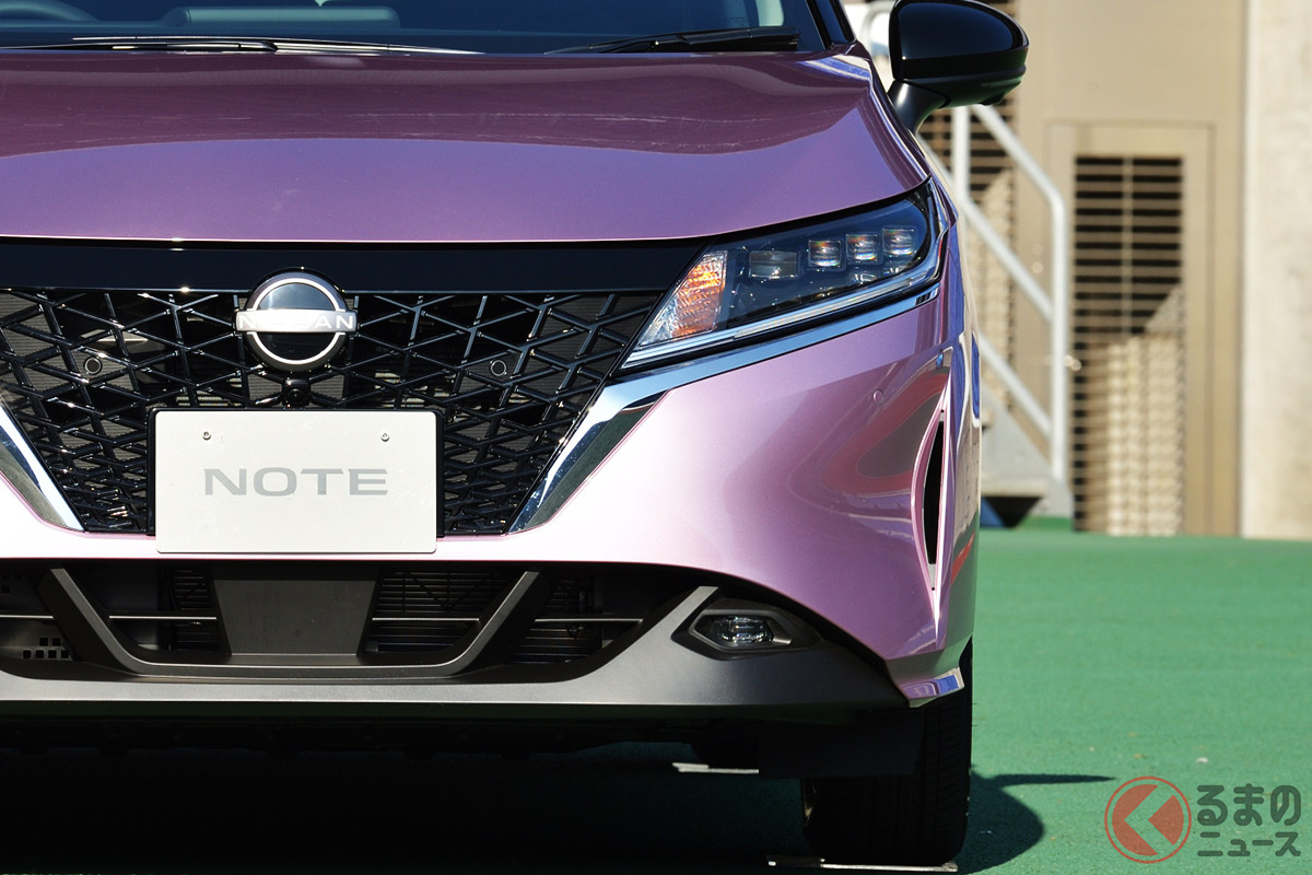 新型ノートはハイブリッド車ながら約200万円から…でもオプション次第では300万円台になる可能性も。