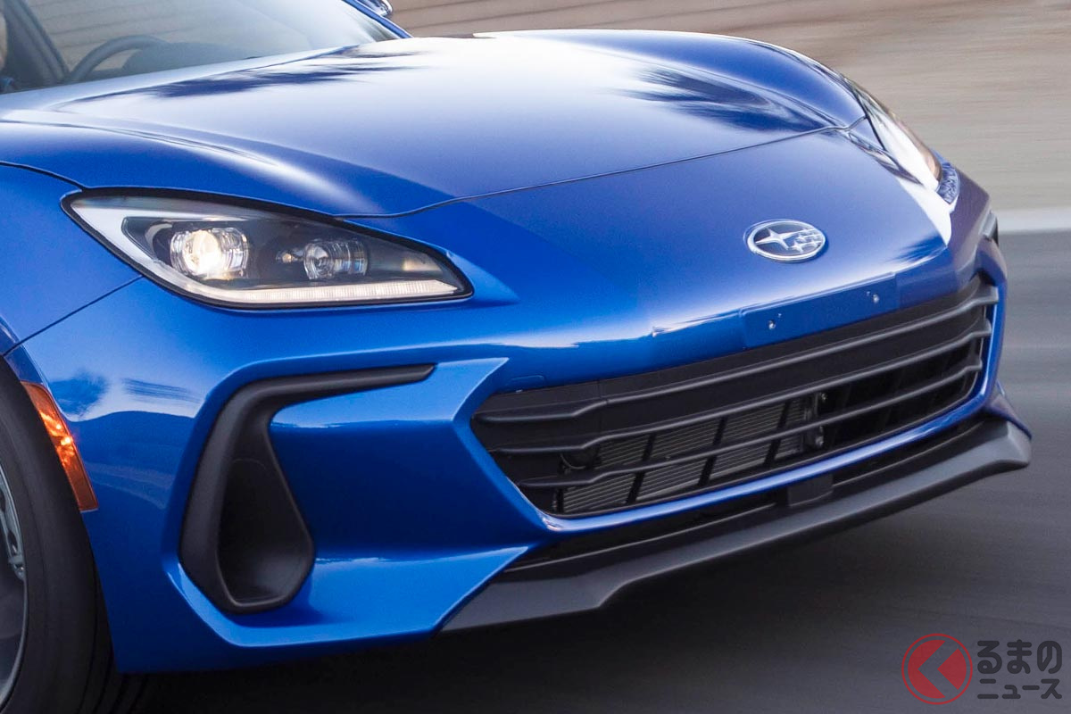 トヨタとの共同開発で実現したスバル新型「BRZ」(北米仕様)