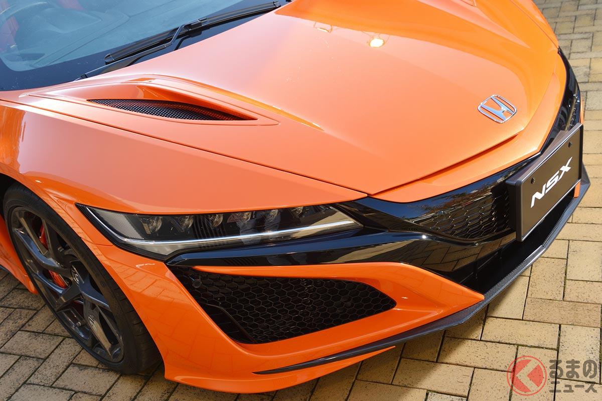 2000万円超の高額スポーツカー ホンダ「NSX」
