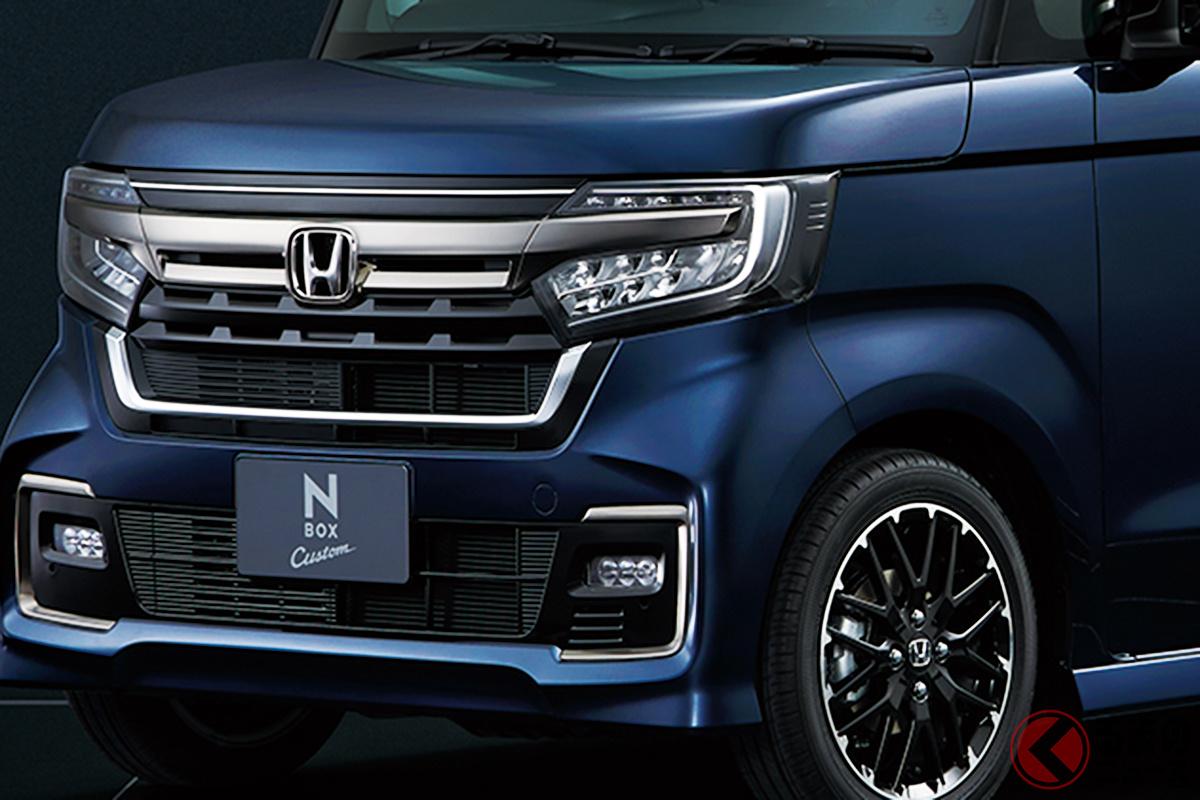 ホンダ新型「N-BOXカスタム」(2020年12月マイナーチェンジ)