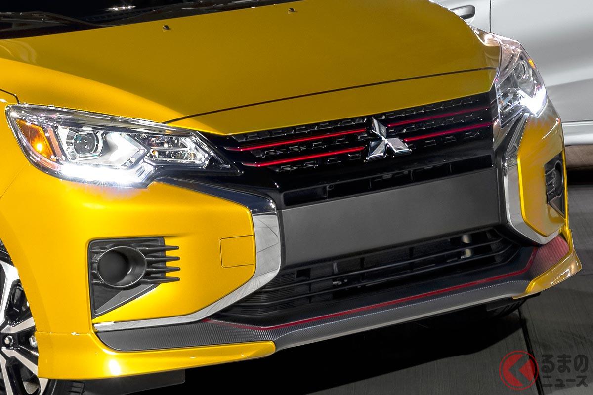 三菱「ミラージュ 2021年モデル」(北米仕様)