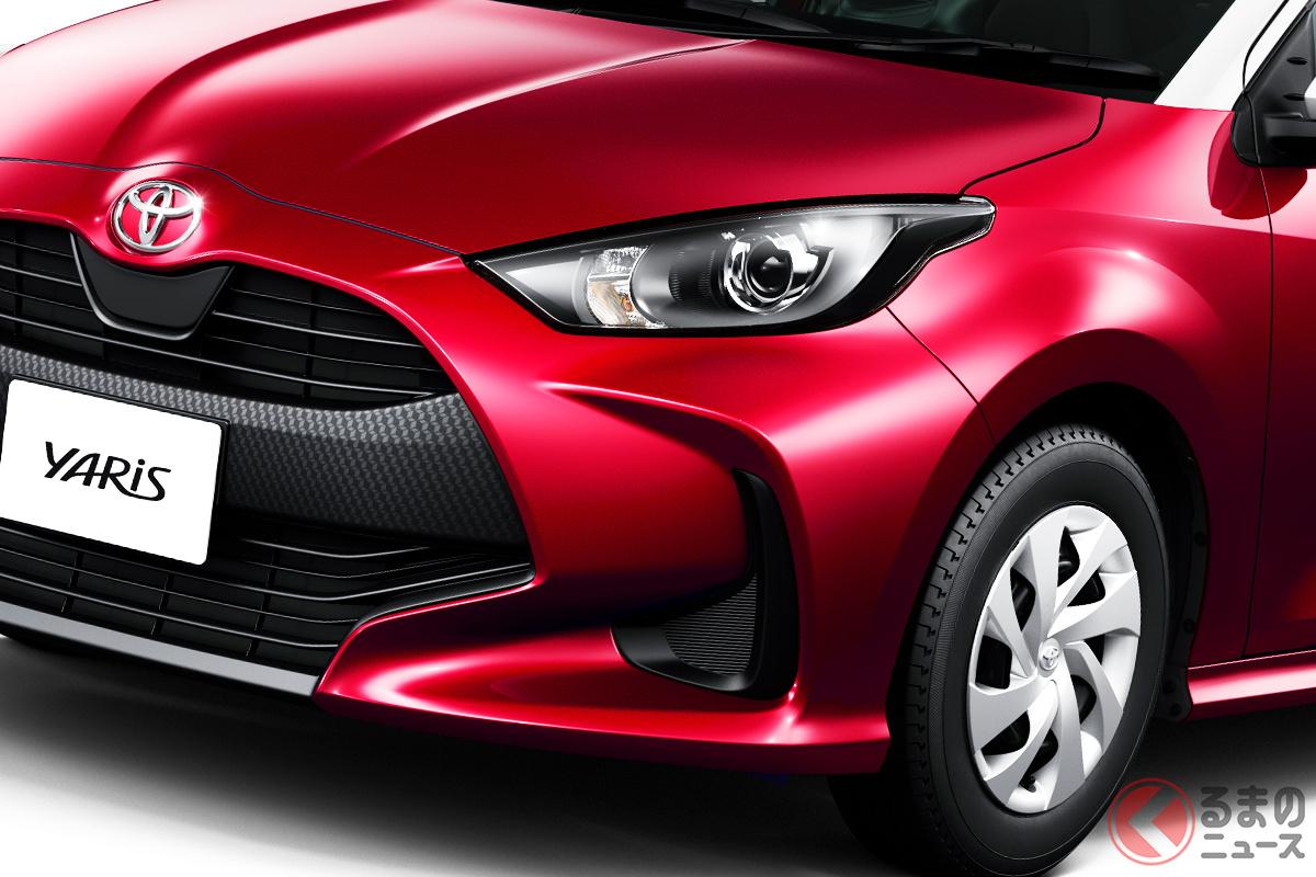 2020年の登録車販売台数ランキングで首位となったトヨタ「ヤリス」(写真はガソリン「G」グレード)