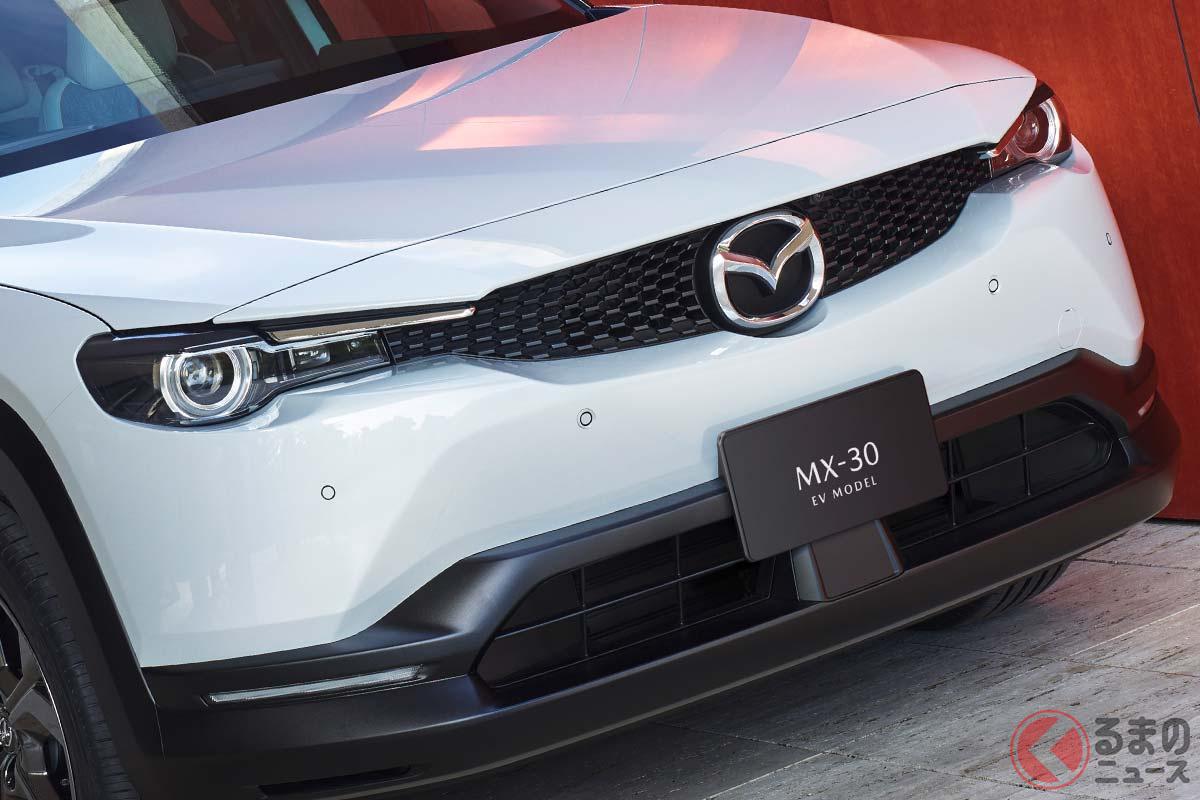 マツダ初の量産EVとして登場した「MX-30 EVモデル」