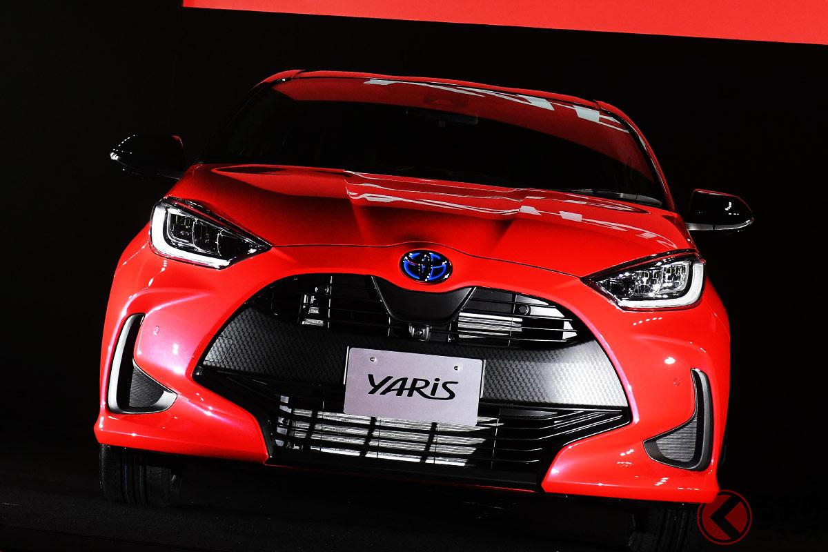 トヨタ「スターレット」、「ヴィッツ」からの悲願が達成!? ヤリスが2020年の登録車でもっとも売れた理由とは