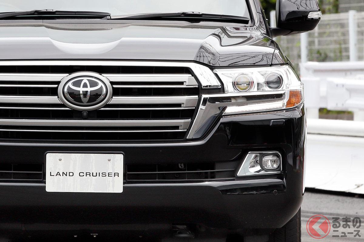 国産3列SUVといえばトヨタ「ランドクルーザー」。2021年には次期型モデルが登場するといわれる。