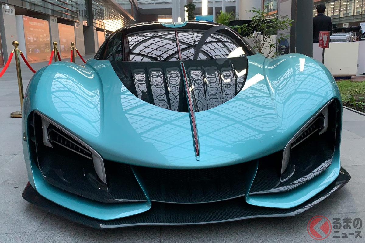 中国民族系自動車メーカーとして初の1400馬力級ハイパーカー紅旗「S9」とは、どのようなクルマ?(撮影:加藤博人)