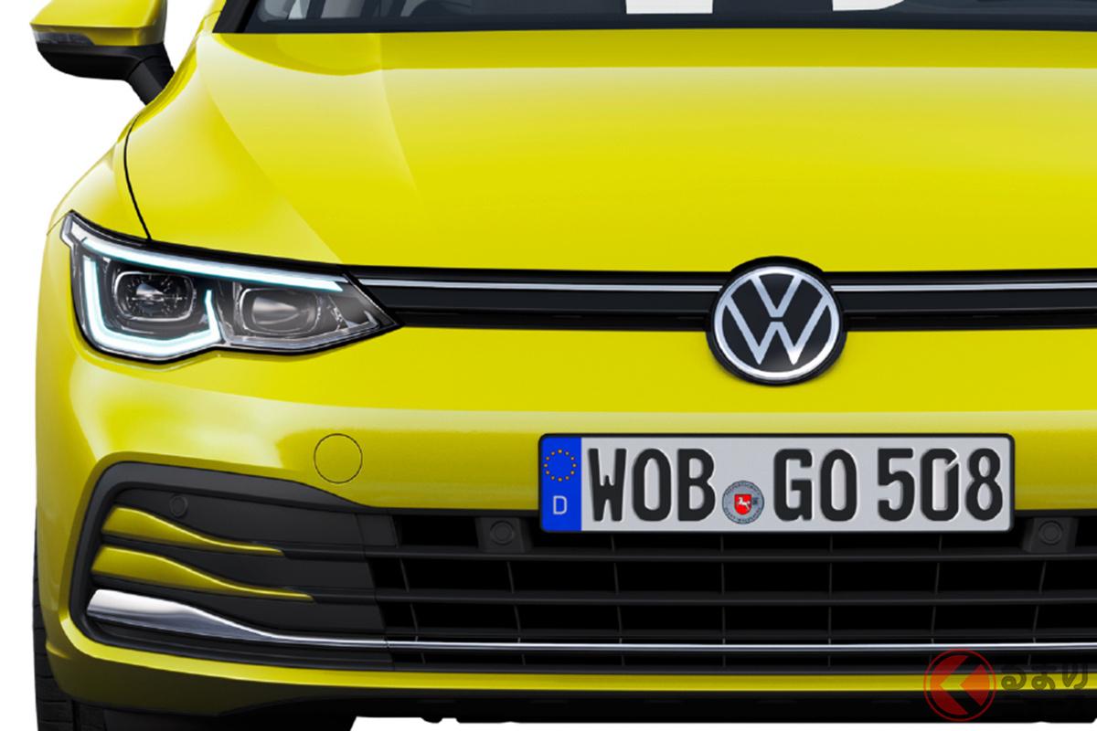 2021年6月ごろに日本で発表・発売が予定されている8世代目VW新型「ゴルフ」。先行受注が開始された