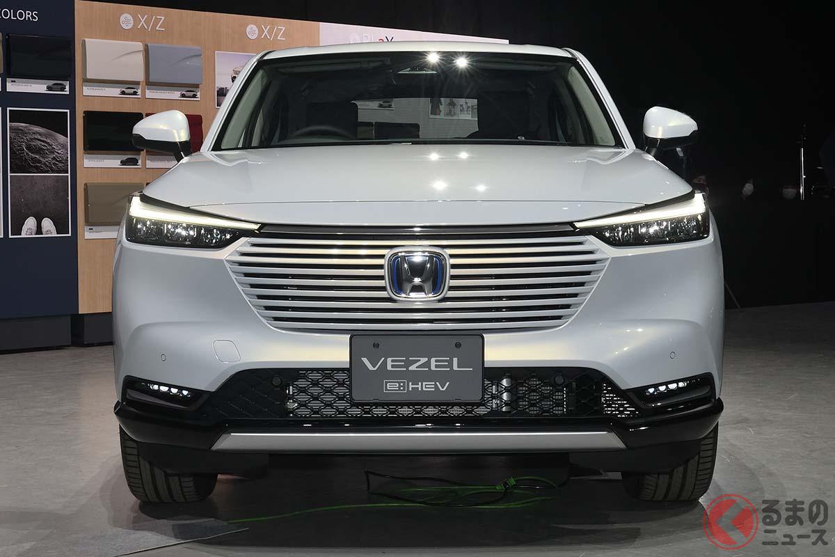デザインが大きな話題となった新型「ヴェゼル」。2021年はSUV王者に返り咲けるか