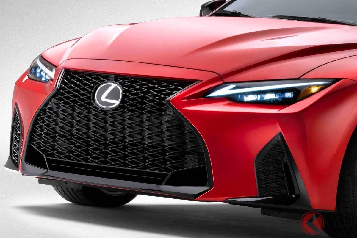 レクサス「IS」のトップモデル「IS500 Fスポーツパフォーマンス」