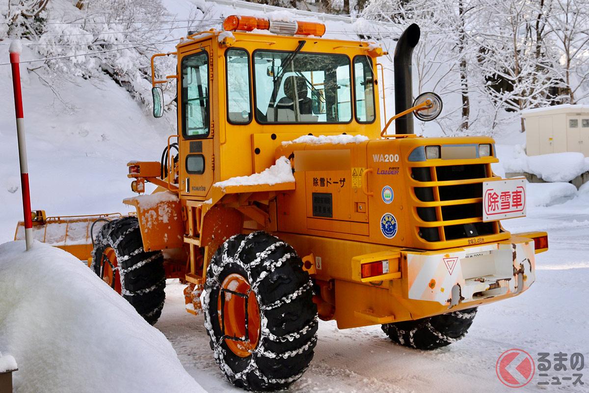 雪国には欠かせない存在となる除雪作業。近年では除雪車の運転手が不足しているといいます。