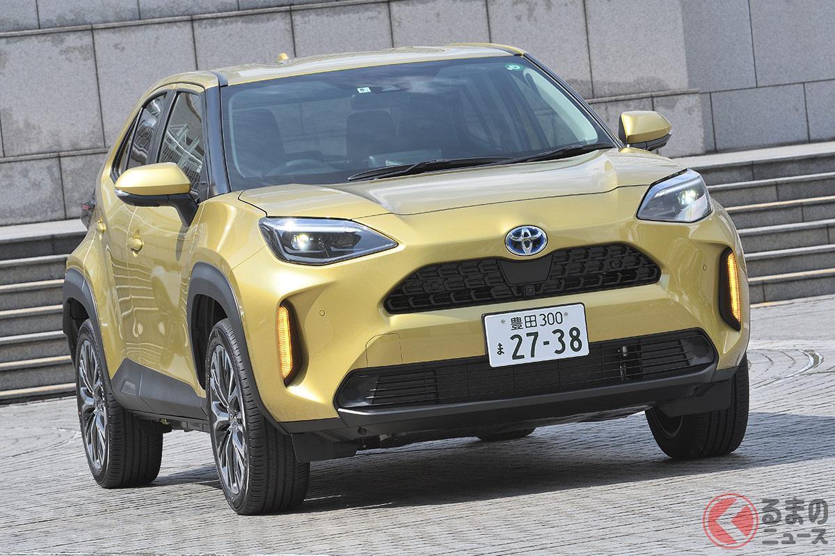 好調な販売を誇るトヨタ「ヤリスクロス」。ホンダ新型「ヴェゼル」登場でどのような影響が出るのか?