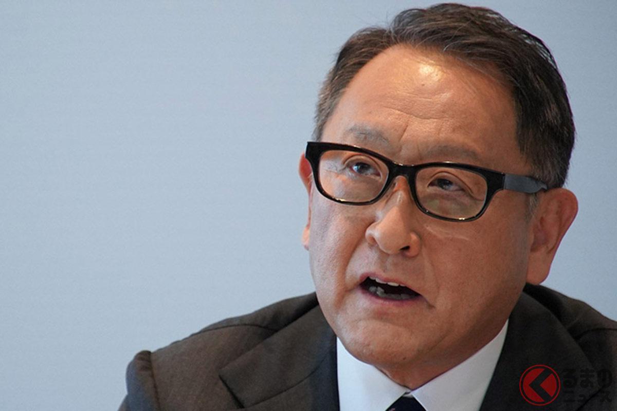 日本の自動車産業の行方を危惧する日本自動車工業会の豊田章男会長