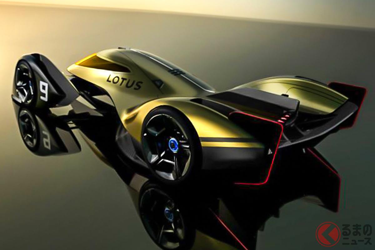 EVレース用のプロトタイプ、ロータス「E-R9(Endurance-Racer 9)」