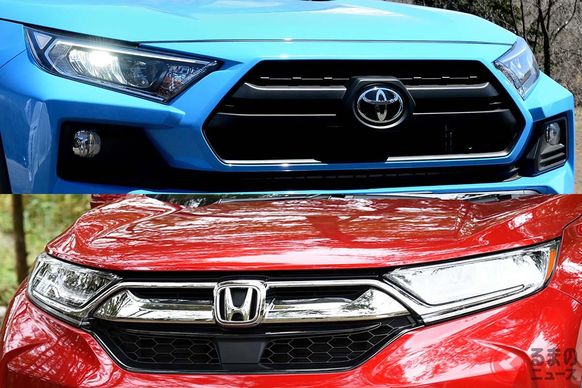 現行モデルで大差がついたトヨタ「RAV4」とホンダ「CR-V」とは?