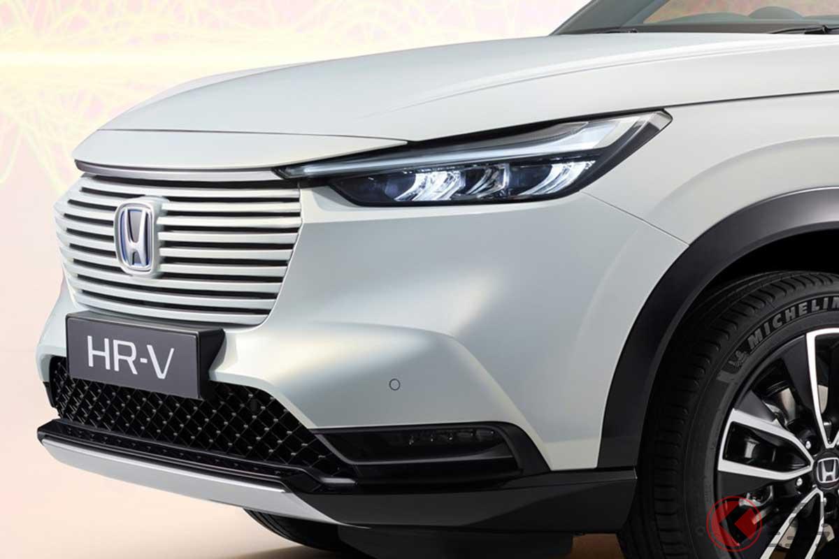 欧州で2021年後半に発売されるホンダ新型「HR-V e:HEV」