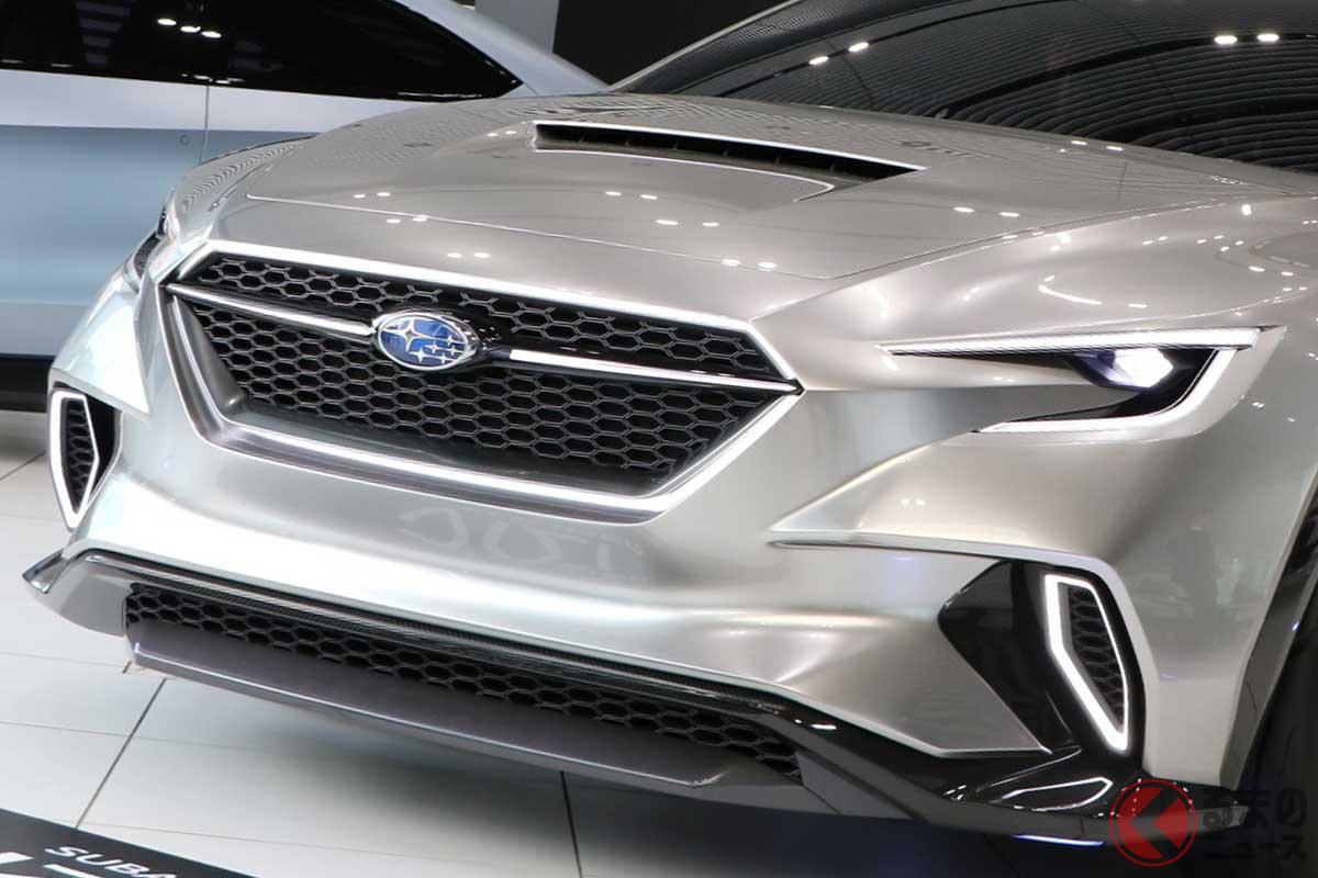 スバル新型「WRX」のコンセプトカー「ヴィジヴ パーフォーマンスコンセプト」