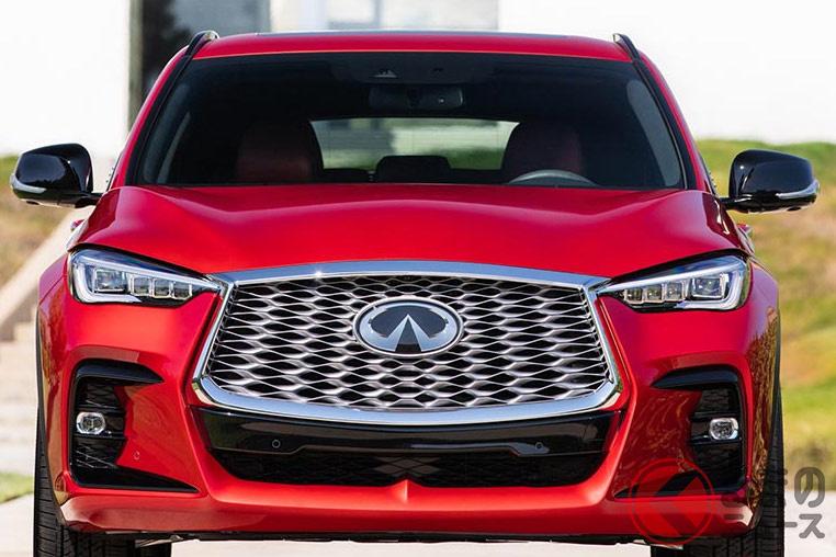 2022年モデルのインフィニティ新型「QX55」