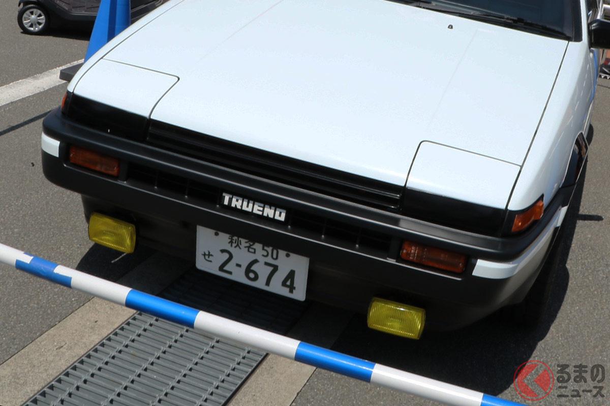 「頭文字D」の主人公が乗っていたスプリンタートレノ(AE86)に速度警告音装置が搭載されていた