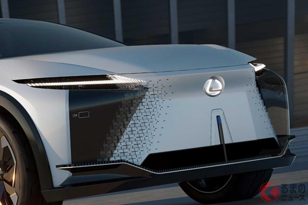 SUV×EVで次世代レクサスの方向性を示す「LF-Z エレクトリファイド」
