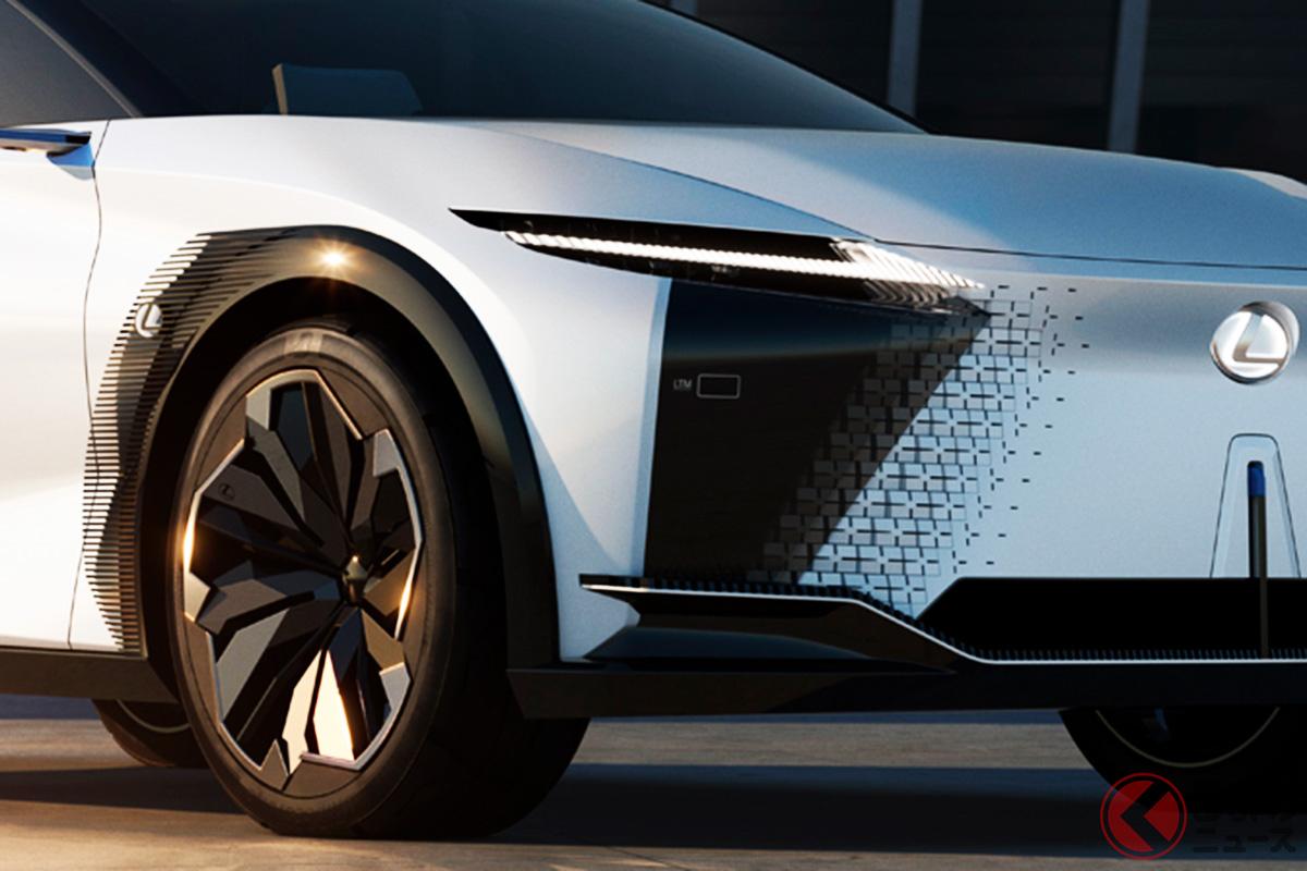 レクサスのコンセプトカー「LF-Zエレクトリファイド」